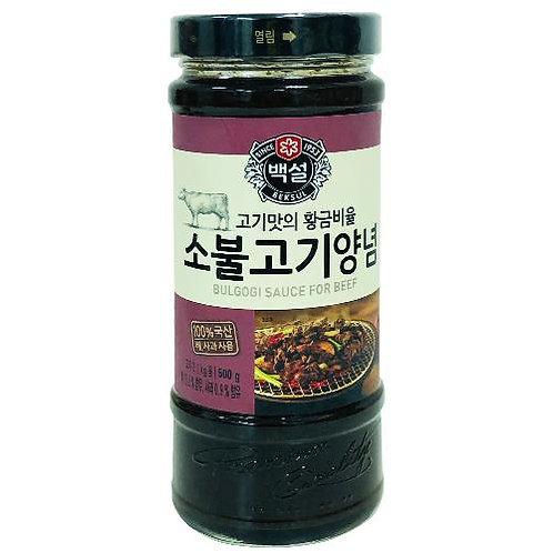 CJ - 韓國CJ 醃牛肉醬 (不辣) 500g