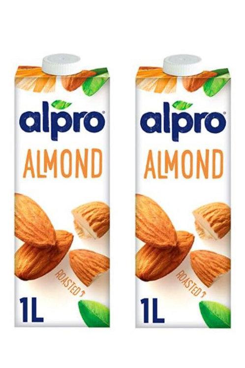 Alpro - 英國 Alpro 杏仁奶 1L x2樽
