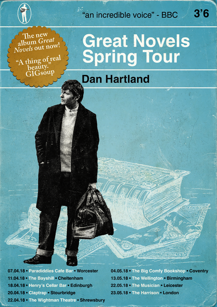 Dan Hartland Great Novels Tour Poster #1