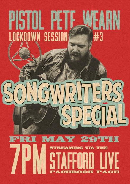 Lockdown Gig Poster #3
