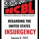 NCBL STATEMENT OF OUTRAGE REGARDING U.S. CAPITOL INSURGENCY - JANUARY 6, 2021