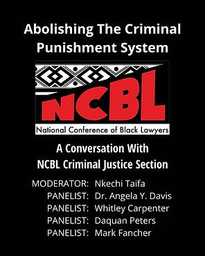 Abolishing The Criminal Punishment Syste