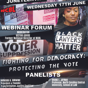 """VOTING RIGHTS:  """"Fighting For Democracy, Protecting The Vote"""" [Watch Video]"""