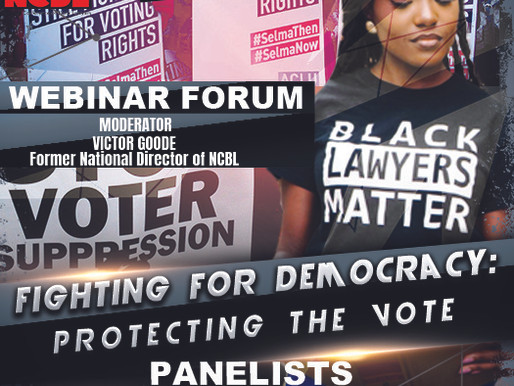 "VOTING RIGHTS:  ""Fighting For Democracy, Protecting The Vote"" [Watch Video]"