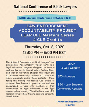 LEAP CLE MASTER SERIES 02 - 10/08/2020