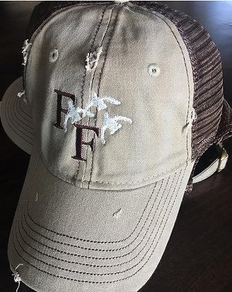 Distressed Camp Hat