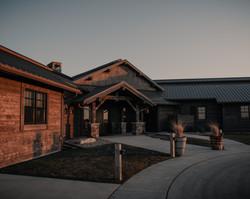 Lodge Front Entrance