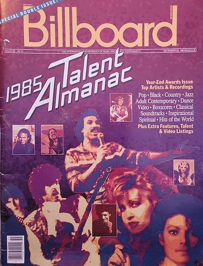 Billboard Talent Almanac 1985 America.jp