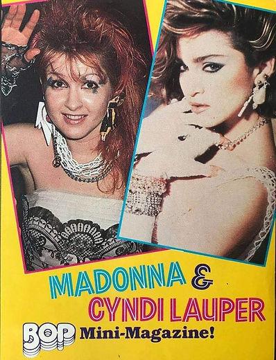 Madonna & Cyndi Lauper Mini Mag.jpeg