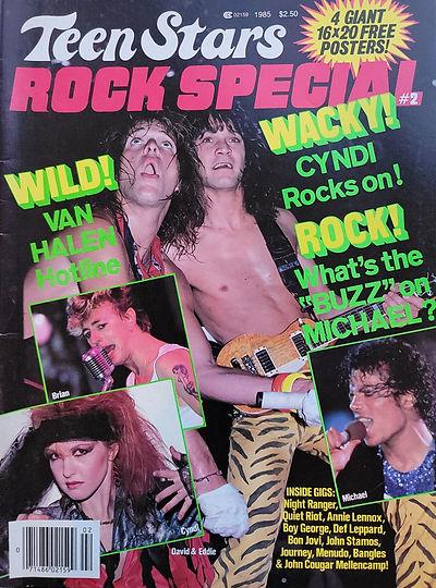 Teen Stars Rock Special 1985 America 2.j