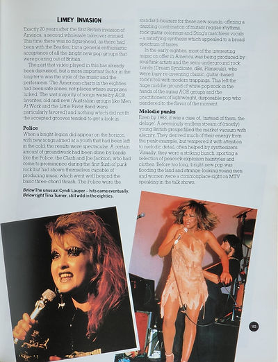 Encyclopedia of Rock & Pop Stars 1985 (2