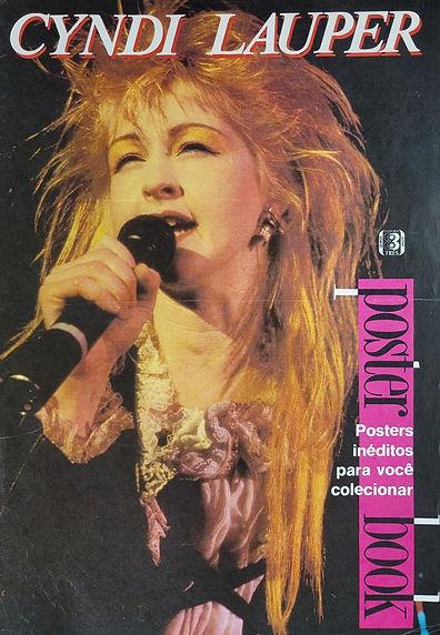 Cyndi Lauper Poster Book 1987 Brazil (Co