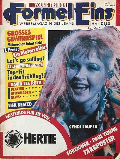 Formel Eins (Formel One) March 1985 Germ