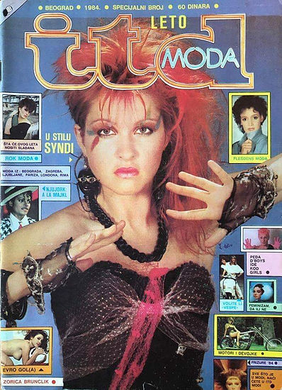 ITD Moda(translates to ITD Fashion)1984