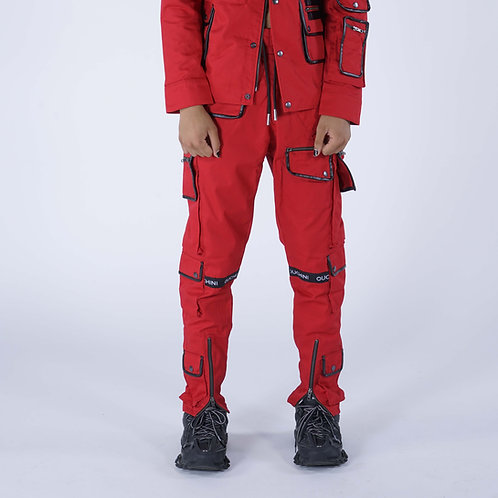 PROTEST PANT RED