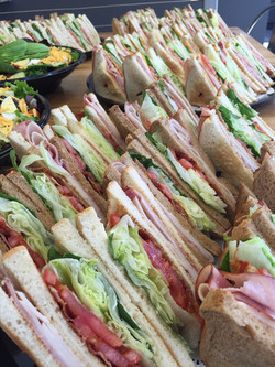 Club Sandwich platter