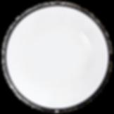 Black Rim Glass Charger Plate Wedding Event Hire Brisbane Gold Coast