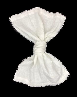 Whisper White Linen Napkin Wedding Event Hire Brisbane Gold Coast