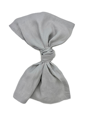 Pebble Grey Linen Napkin Wedding Event Hire Brisbane Gold Coast