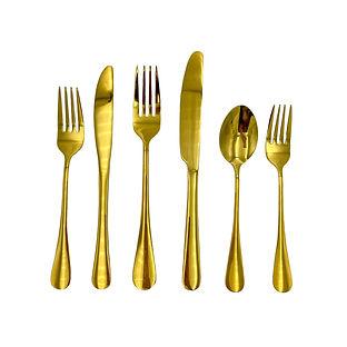Classic Gold Cutlery Wedding Event Hire Brisbane Gold Coast