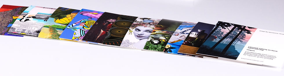 Giclee paper sample pack