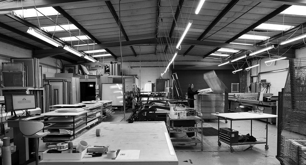 Harwood King Printmakers Studio