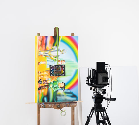 Colour matching for giclee printing
