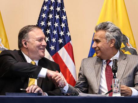 Ecuador: Lenin Moreno and the CIA against Andres Arauz