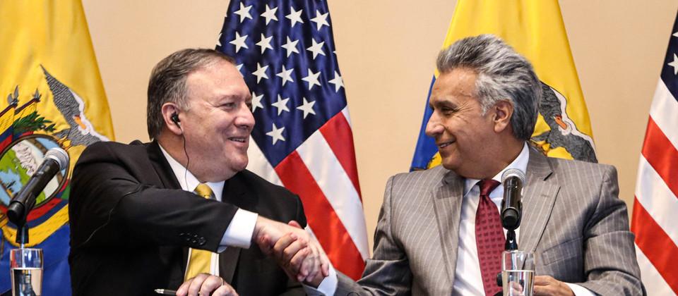 Ecuador: Lenín Moreno y la CIA contra Andrés Arauz