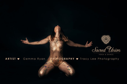 Sacred Union Body Painting