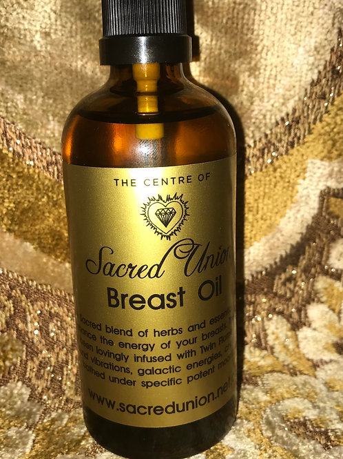 Sacred Union Breast Oil $79 plus $10 postage
