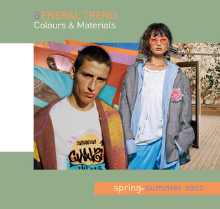 General Trend Colours & Materials Spring/Summer 2022
