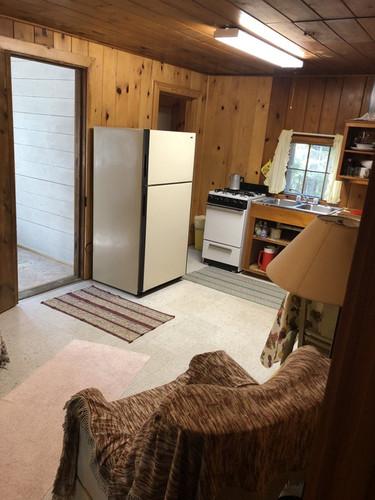 Birch kitchen area