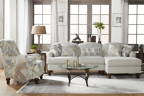 Perspective Eggnog Sectional