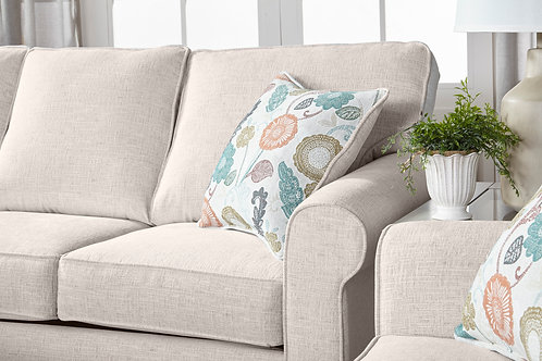 Campbell Snow Love Seat and Sofa