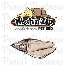 Wash N' Zip Pet Bed