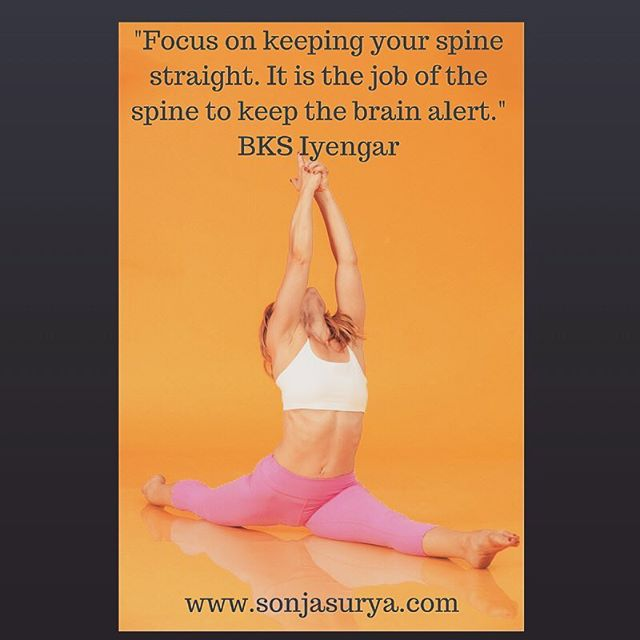 _Focus on keeping your spine straight
