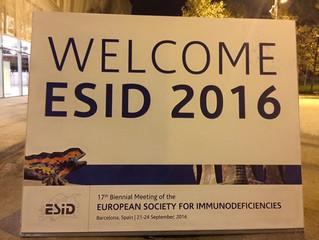 ESID 2016, Barcelona 21-24 septiembre
