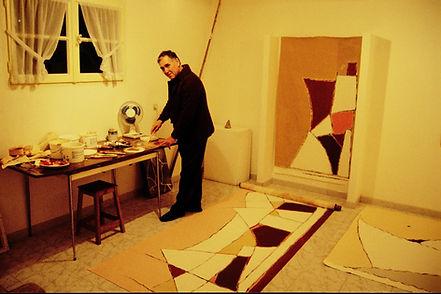 5_Armand Scholtès dans son atelier de L