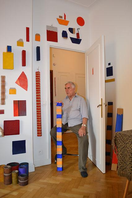 10_Armand Scholtès dans son atelier, Ni