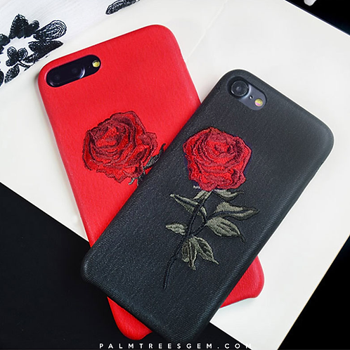 Rose Feel iPhone Cases
