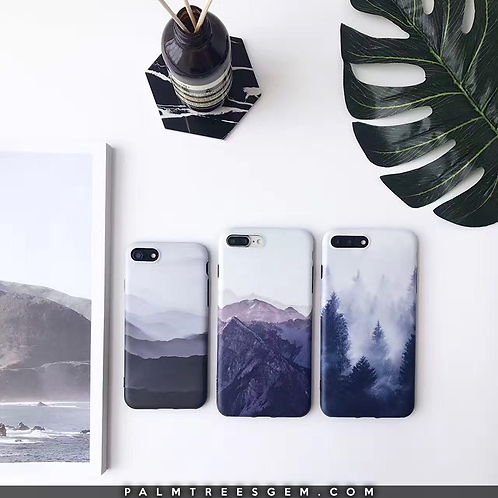 Mountain Tops iPhone Cases