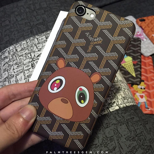 Drop Out Bear iPhone Case
