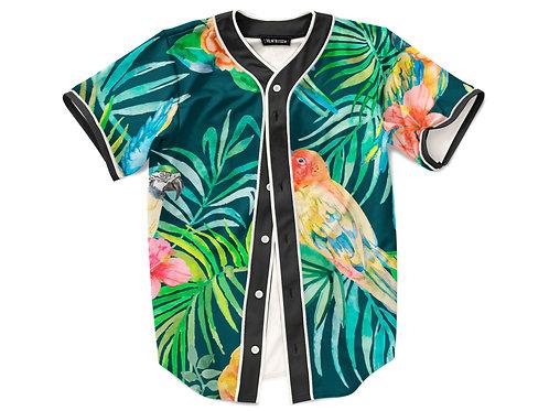 Tropical Vibe Baseball Jersey
