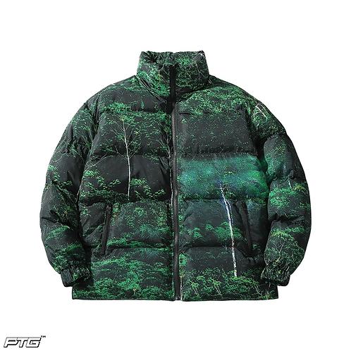 Forrest Green Bubble Jacket