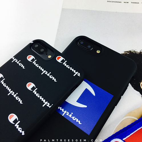 Custom Champion iPhone Cases
