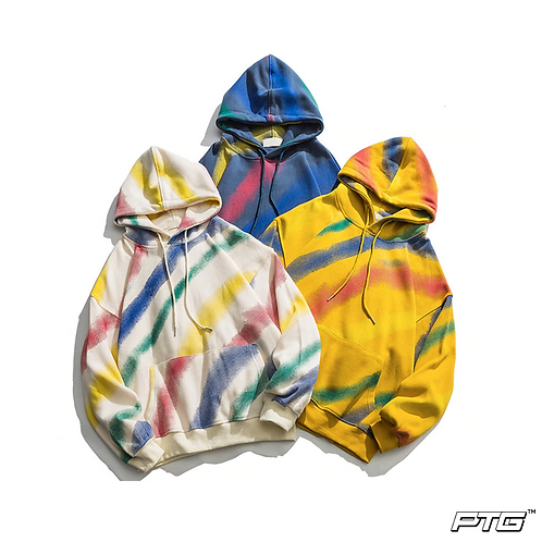 Faded Stripes Hoodie