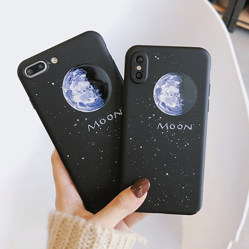 Moon Graphic iPhone Case