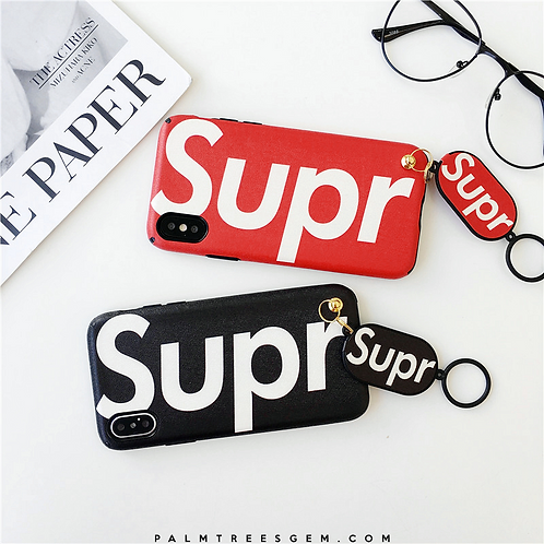 Surpeme Ring Holder iPhone Case