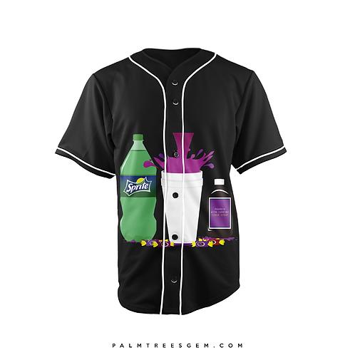 Purple Lean Baseball Jersey